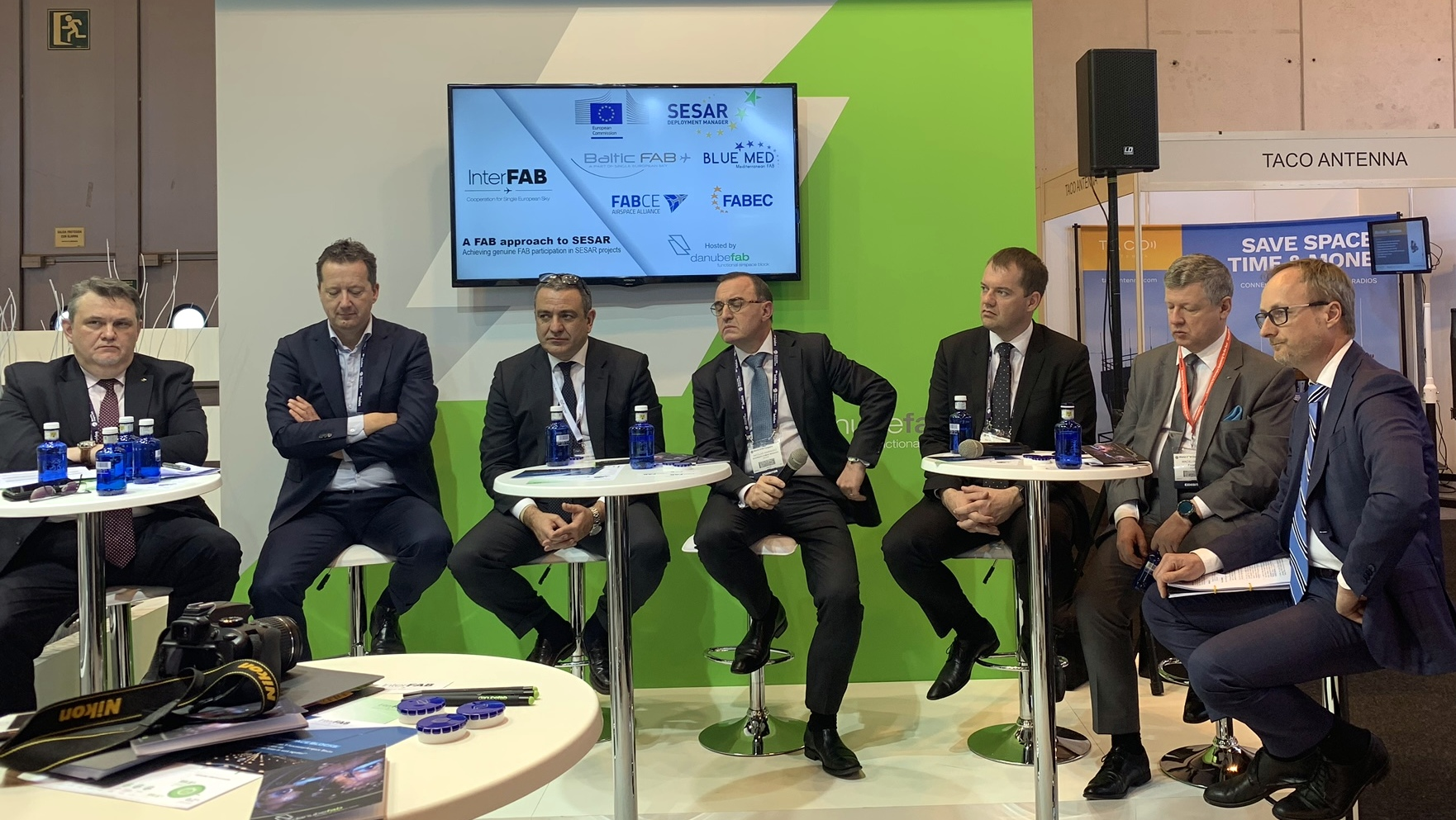DANUBE FAB panel debate at World ATM Congress 2019 on FABs participation in SESAR projects